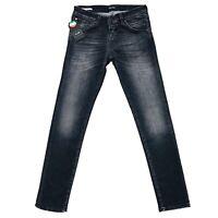 JACK & JONES Homme 'S Glenn Slim Fit Taille Basse Gris Jean Taille W30