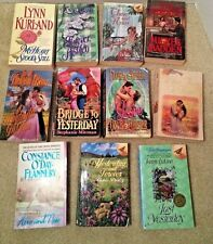 Time Travel Romance Novels Book Lot of 11 Various Authors 1 Signed Jenny Lykins