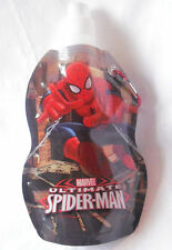 NEW SPIDERMAN FOLDING SPORTS WATER BOTTLE CARABINER CLIP REUSABLE ATTACHABLE