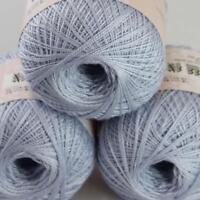 AIP Thread No.8 Cotton Crochet Yarn Craft Tatting Hand Knit Embroidery 50gX3 #20