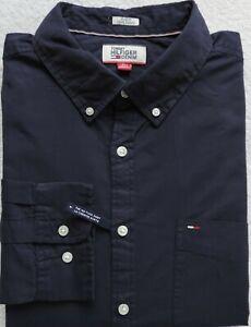 Tommy Hilfiger Denim Men's Solid Button Down Shirt