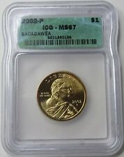 2002-P Sacagawea Native American Dollar - ICG MS67