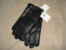 NEW ! UGG Australia Mens Met Tab Vent Tech Leather Gloves Size: XL (Extra Large)