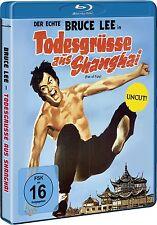 Bruce Lee - Todesgrüße aus Shanghai (UNCUT) auf Blu Ray NEU+OVP