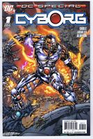 DC Special Cyborg #1 NM Signed w/COA by Ken Lashley 2008 DC Comics