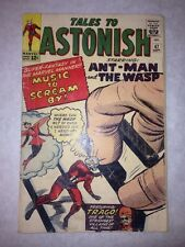 Tales To Astonish #47 9/63 Marvel Wasp Ant-Man Avengers Movie 4th App Key