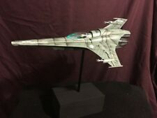 Moebius Battlestar Galactica Viper MK VII Model - FULLY BUILT + LIGHTING
