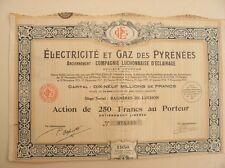 ELECTRICITE ET GAZ DES PYRENEES