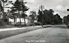 Dursley Kings Hill Rd Nr Nailsworth Wotton under Edge sepia RP pc used 1944 Good
