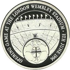 Angleterre Great Britain Sport Euro Football Championship Wembley Argent 1996