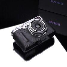 GARIZ BL-X100BK Black Label leather case Fujifilm Fuji X100T X100S X100 Black