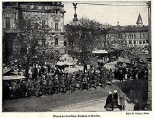 1915 * Einzug der deutschen Truppen in Gorlice *  WW1
