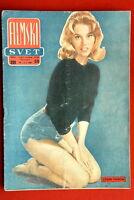 JANE FONDA ON COVER 1960 RARE VINTAGE EXYUGO MAGAZINE