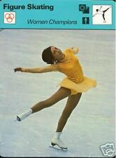 PEGGY FLEMMING OLYMPIC GOLD MEDAL ICE SKATING 1978 FOCUS ON SPORTS CARD