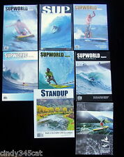 SUP World Magazines Issues 16 - 21 + Standup Journal Gerry Lopez Margetts x 7