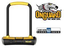 OnGuard Bulldog 8010c Combinación Grillete CANDADO BICICLETA D Candado en U