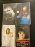Gloria Estefan Tape Cassette Lot Of 4