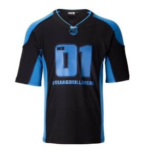 🦍 UK M. Gorilla Wear Athlete 2 T-shirt.New design+tags. Navy/black. Bonac. Gym.