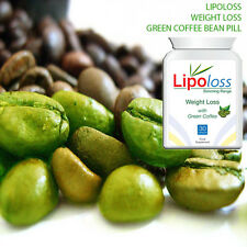 LIPOLOSS WEIGHT LOSS GREEN COFFEE BEAN PILL MAX STRENGTH EXTREME FAT LOSS FAST