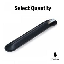 More details for 1 - 10 pcs   pu leather single pen storage case pouch sleeve bag pens holder uk