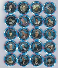 WSOP Horseshoe Gallery Of Champions 25th Anniversary $2.50 Chip Set 20 Chips