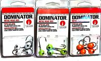 VMC Pro Series Dominator Metal Head Jigs - Choice Size & Color ( One Package )
