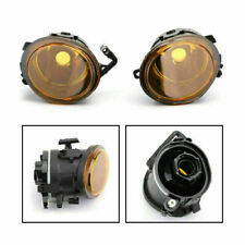 Pair Replacement Yellow Lens Fog Lights Lamps For 2001-2006 BMW E46 M3 4 Door T8(Fits: M3)