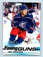 2019-20 Upper Deck Young Guns Emil Bemstrom RC ! #455