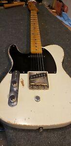 B or G Bender install in your Lefty Fender Telecaster Forrest Custom Guitars