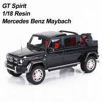 1/18 GT Spirit Mercedes Benz Maybach G650 Landaulet Schwarz Harz Auto Modell