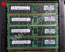 HP G6 G7 32GB 4x8GB 2RX4 DDR3 PC3-10600R RAM 500205-071 501536-001 DL360 DL580