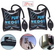 2Pcs Air Pump Wedge Inflatable Air Bag Shim Car Window Door Open Auto Entry tool