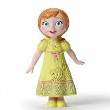 New Jim Shore Disney Figurine Frozen Young Anna Statue Snowball Snowflake Gown