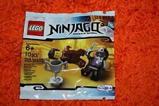 New LEGO 5002144 Sealed Ninjago Dareth Brown Ninja Polybag 6079522 TRU Exclusive