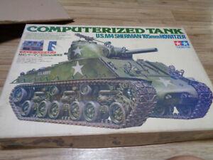 1/16 M4 Sherman 105mm howitzer computerized tank