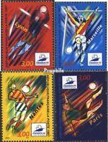 Frankreich 3218-3221 (kompl. Ausg.) postfrisch 1997 Fußball-WM