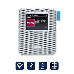 BLAUPUNKT Steckdosenradio Internet Radio klein WLAN Steckdose Bluetooth Bad weiß