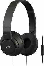 JVC - HA SR185 Wired On-Ear Headphones - Black