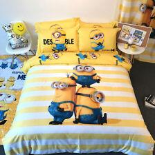 Minions Set cama Funda nórdica Hoja de almohada Duvet Cubierta MINDU06 - 07