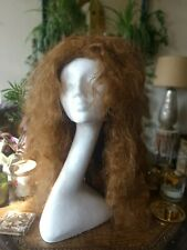 VINTAGE WCA long Curly auburn WIG Korean Synthetic HAIR full lace Cap
