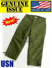 US NAVY MILITARY DECK PANTS PERMEABLE EXTREME COLD WEATHER TROUSER A2 LARGE USN