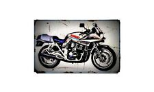 1992 gsx400s katana Bike Motorcycle A4 Retro Metal Sign Aluminium