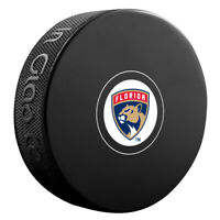 Florida Panthers NHL Team Logo Autograph Souvenir Hockey Puck