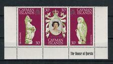 Cayman Islands 1978 412-14 25°anniv incoronazione Elisabetta II  Mnh