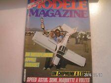 **e Modèle Magazine n°376 Baron Rouge façon PB / Enya 60 quatre temps