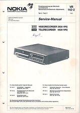 NOKIA - VR 3929 VPS TR 4929 VPS - Service Manual - B2972