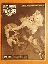 Miroir des Sports 387-12/1/1953-Rugby 5 Nations,la France bat l'Ecosse par 11-5