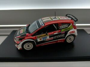IXO 1/43 scale Ford Fiesta S2000 Oleksowicz Barum rally code 3 special