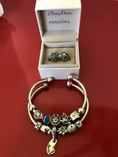 Authentic Chamilia,Sterling Bracelet Size Med.,Disney Pandora Sterling Charm, 11