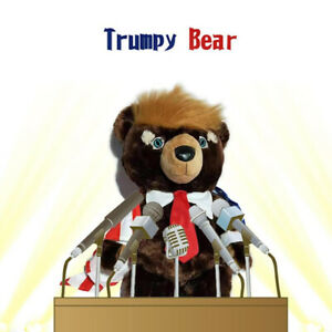 Donald Trump Bear Plush Toys New Cool USA Campaign Trumpy Toys Limited Edition